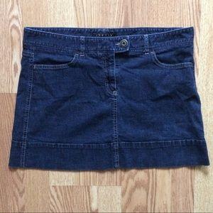 Theory Denim Skirt
